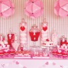 Valentine's Day Dessert Tables