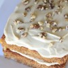Whole Grain, Low-Fat Carrot Cake