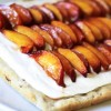 No-Bake Peach Mimosa Cheesecake Bars