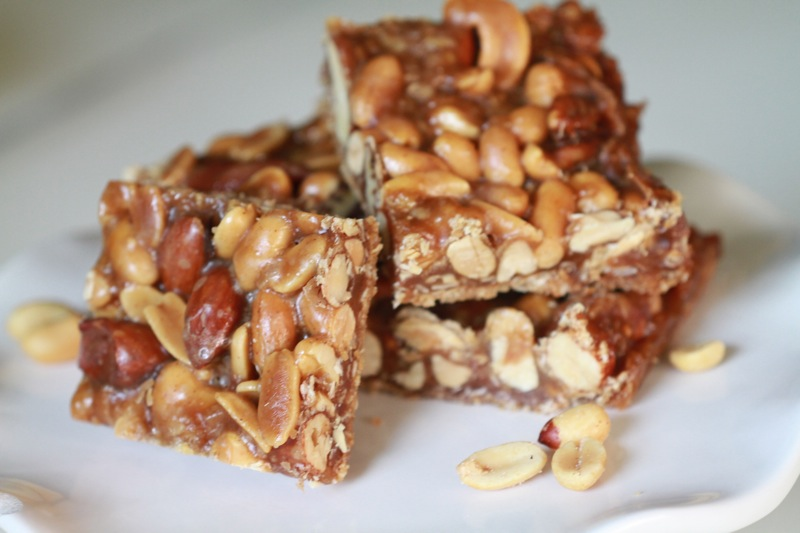 Honey-Nut Bars Recipe — Dishmaps
