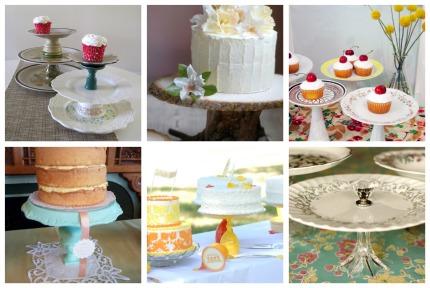 2. & DIY Cake Stand u2013 DessertedPlanet.com