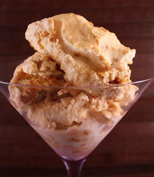 Pumpkin Ice Cream Roll Recipe: Dessert Blog, Recipes
