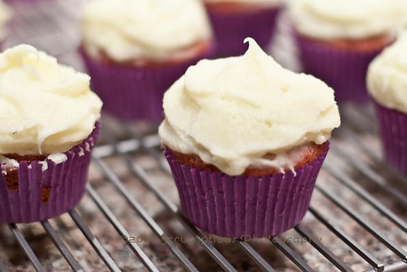 Chambord Cupcakes
