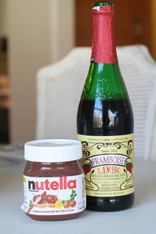 dark chocolate nutella raspberry cupcakes. Black Bedroom Furniture Sets. Home Design Ideas