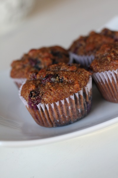Blueberry Almond Meal Muffins 2 – DessertedPlanet.com