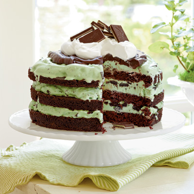 Chocolate-Mint Icebox Cake Recipes — Dishmaps