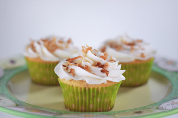 Key Lime Coconut Cupcakes by The Repressed Pastry Chef