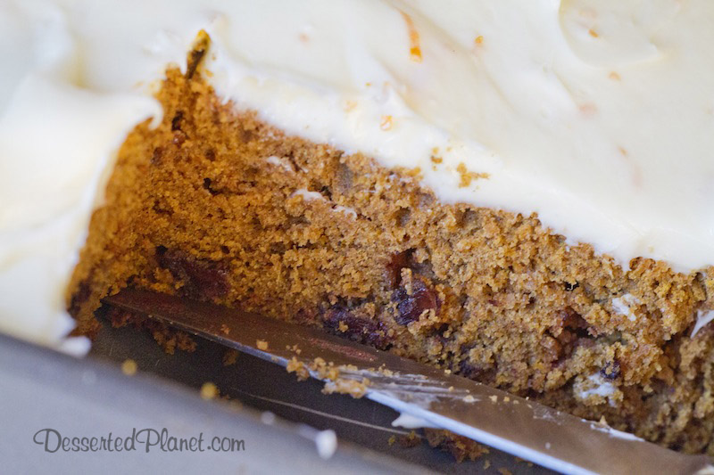 If you're looking for a fantastic pumpkin cake recipe, try this one ...