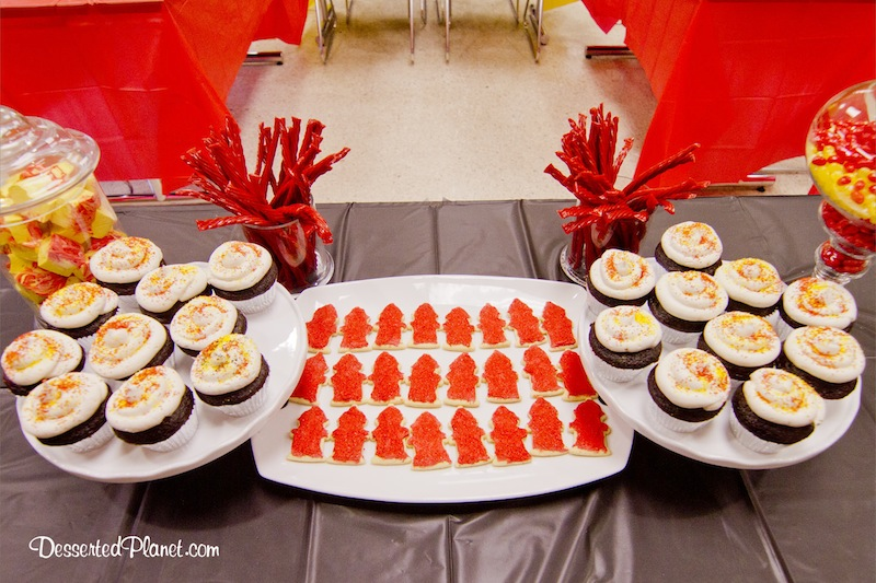 Fire Truck Birthday Party DessertedPlanetcom