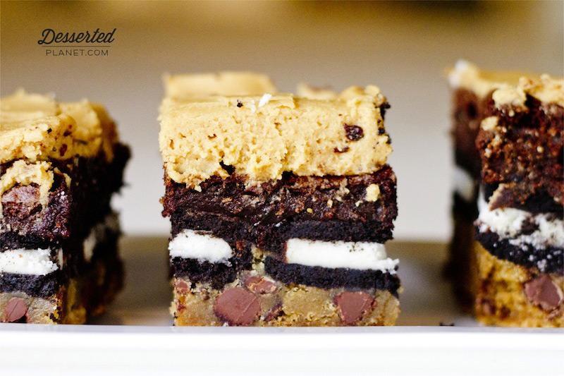 Choc Chip Cookie Brownie