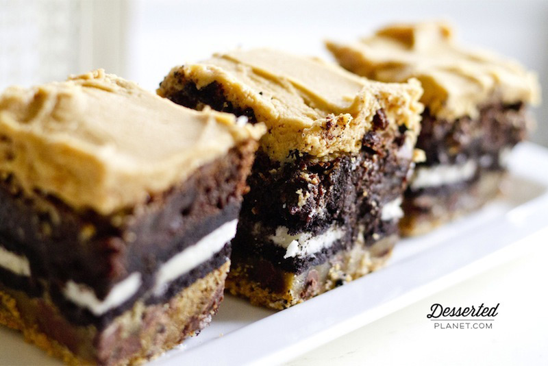 Choc Chip Cookie Oreo Brownie