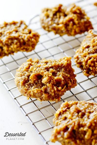 Peanut Butter and Banana Quinoa Cookies