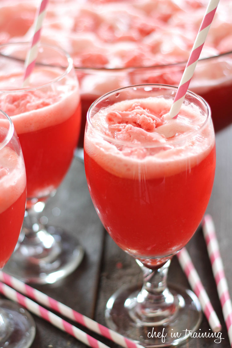 Raspberry Party Punch