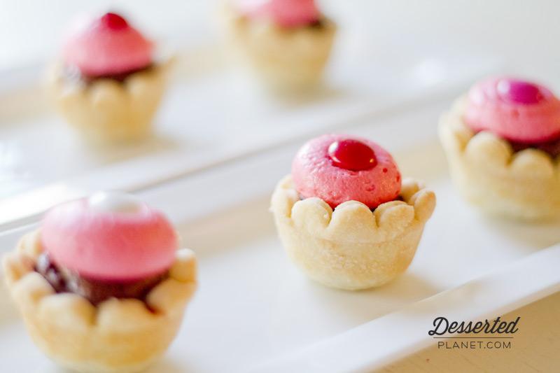 Fudge Raspberry Tassie