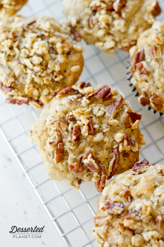 Banana Nut Crunch Muffin
