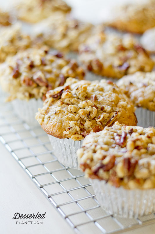 Banana Nut Crunch Muffins