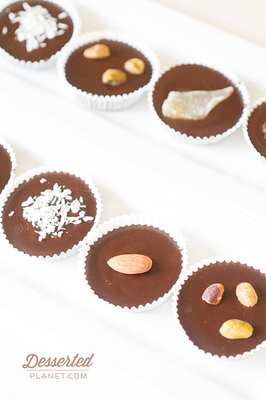 Almond Chocolate Candy Cups