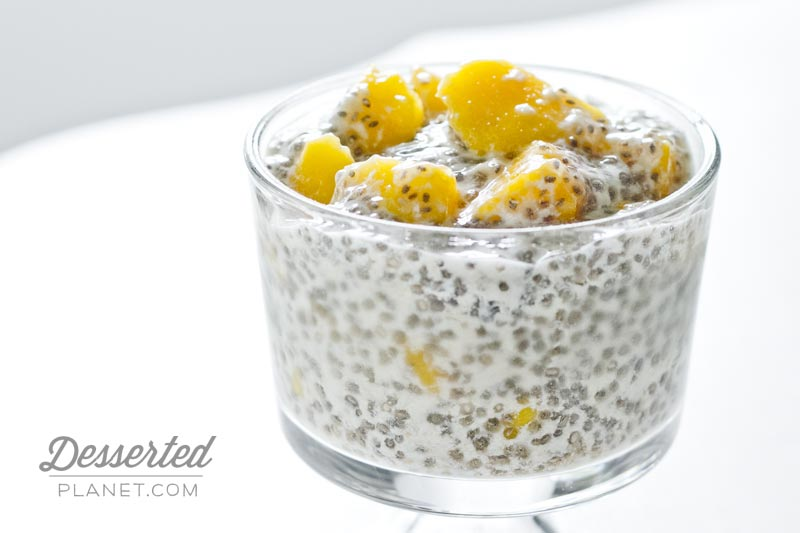 chia seed pudding by chia seeds chia pudding mangos chia pudding is ...