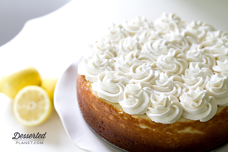 NY Style Lemon Cheesecake