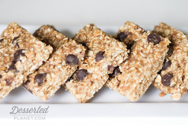 No-Bake Energy Bars Chocolate