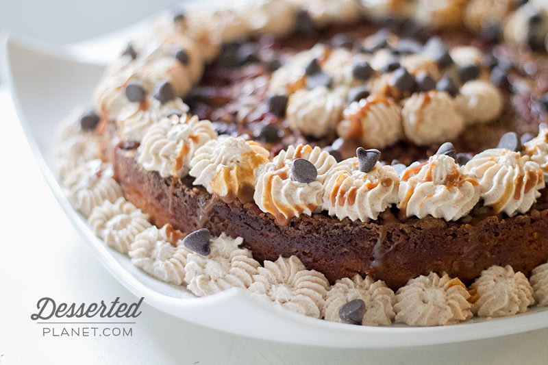 Pumpkin Crunch Cake with Cinnamon Whipped Cream, Bourbon Salted ...