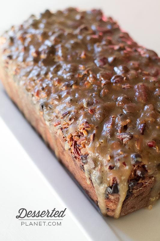 Praline Apple Bread Loaf