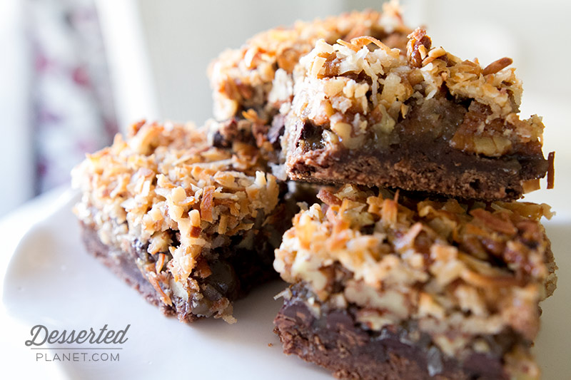 German Chocolate Pecan Pie Bars 2