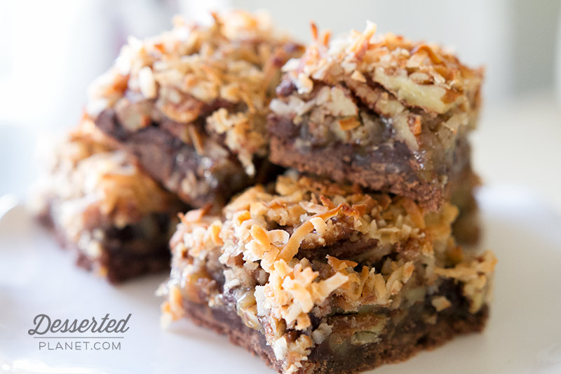 German Chocolate Pecan Pie Bars 4