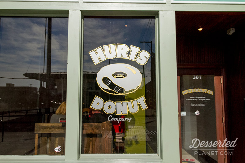 Hurts Donut Window