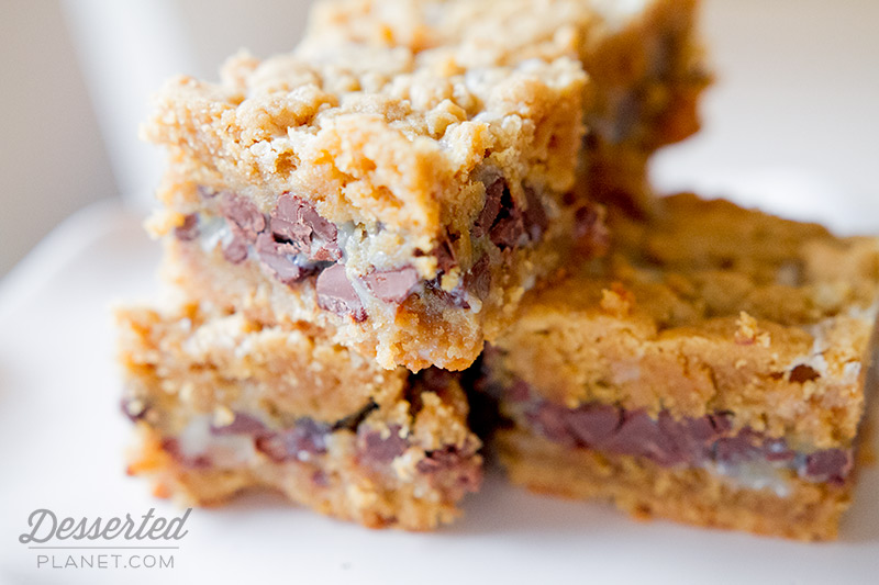 Peanut Butter Gooey Bars