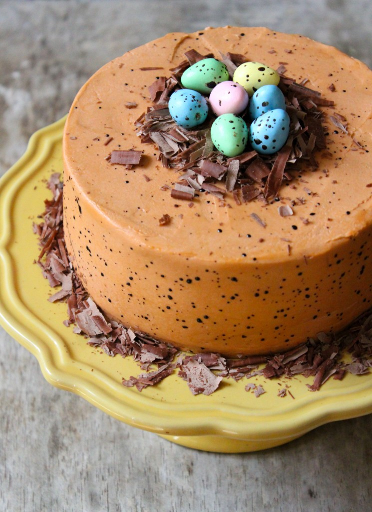 Chocolate Speckled Egg Cake