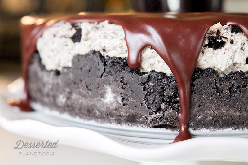 No Bake Oreo Cheesecake Ganache