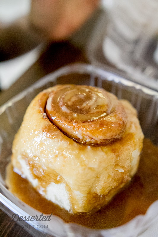 Toffee Cinnamon Roll