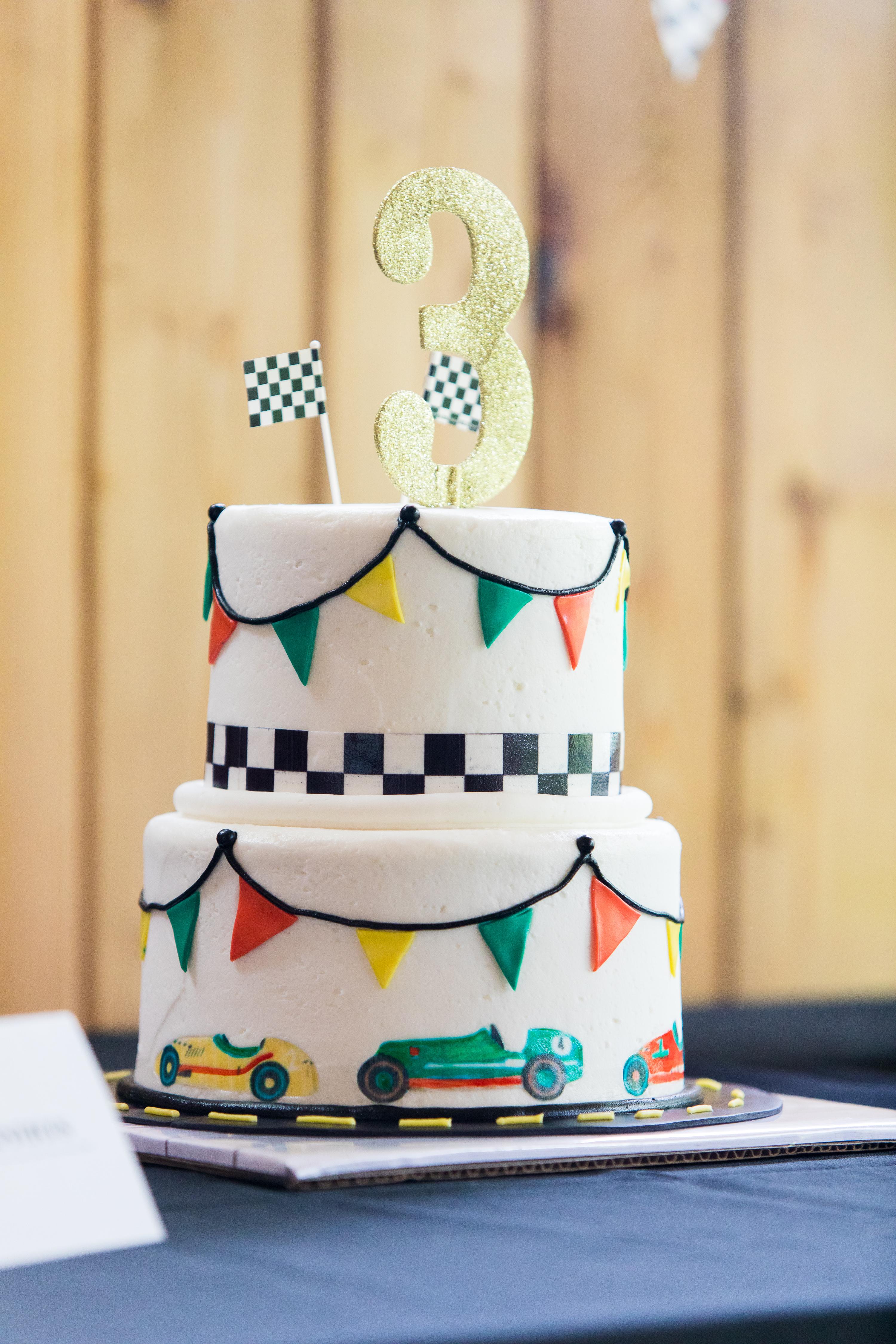Vintage Race Car 3rd Birthday Party! – DessertedPlanet.com